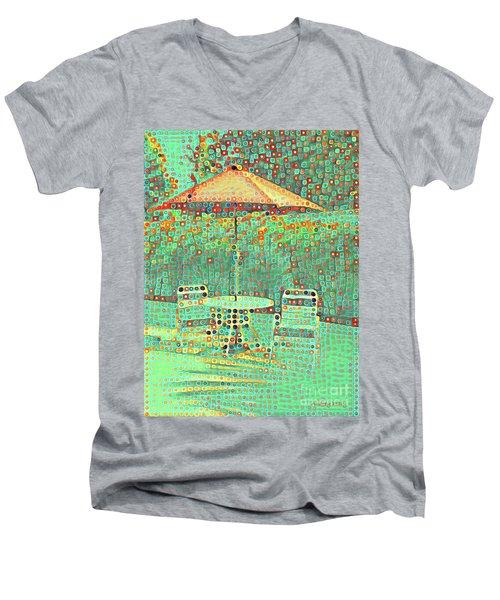 Golden Parachute Men's V-Neck T-Shirt