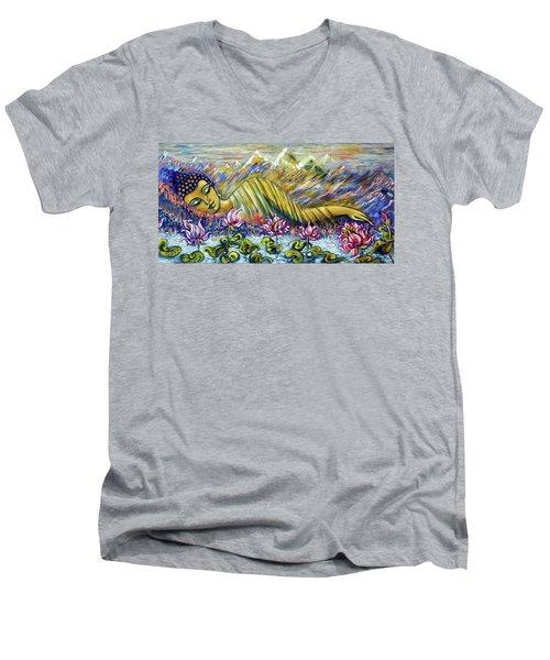 Golden Peace Men's V-Neck T-Shirt