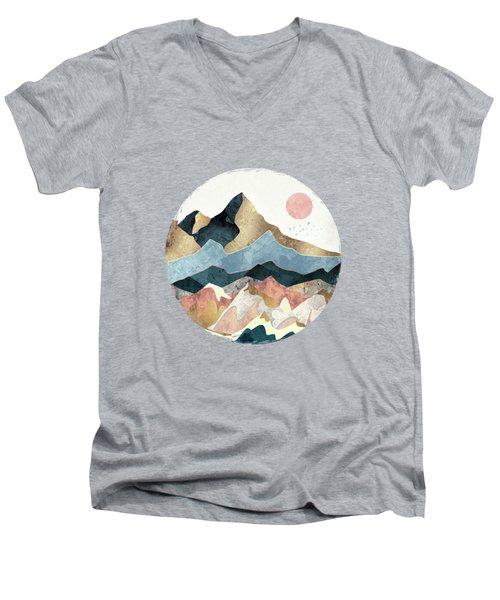 Golden Peaks Men's V-Neck T-Shirt
