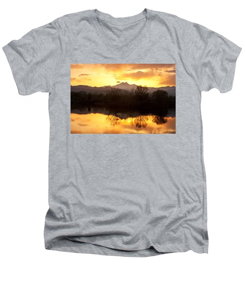 Golden Ponds Longmont Colorado Men's V-Neck T-Shirt