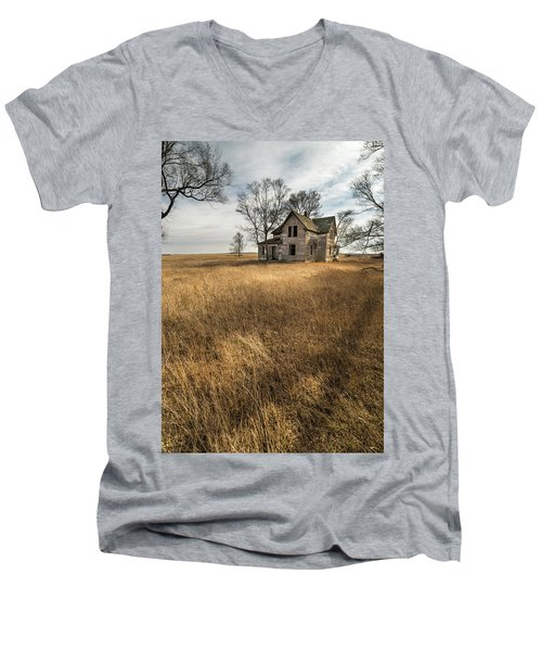Golden Prairie  Men's V-Neck T-Shirt