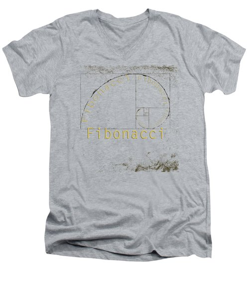 Golden Ratio Men's V-Neck T-Shirt