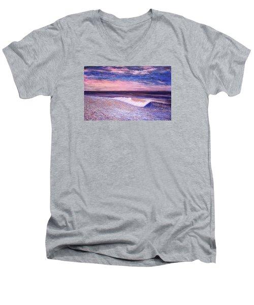 Golden Sea Men's V-Neck T-Shirt