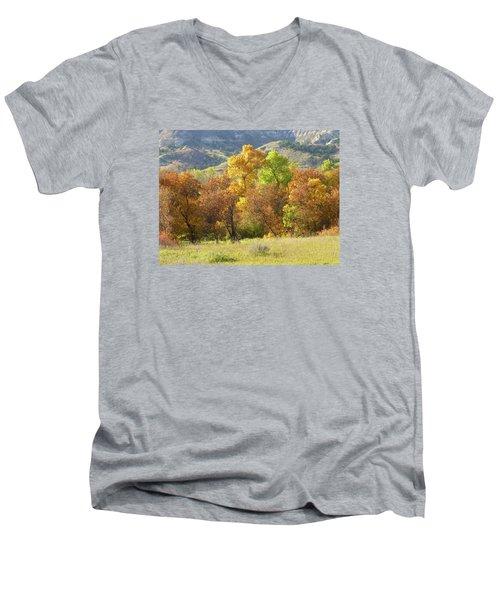 Golden September Men's V-Neck T-Shirt
