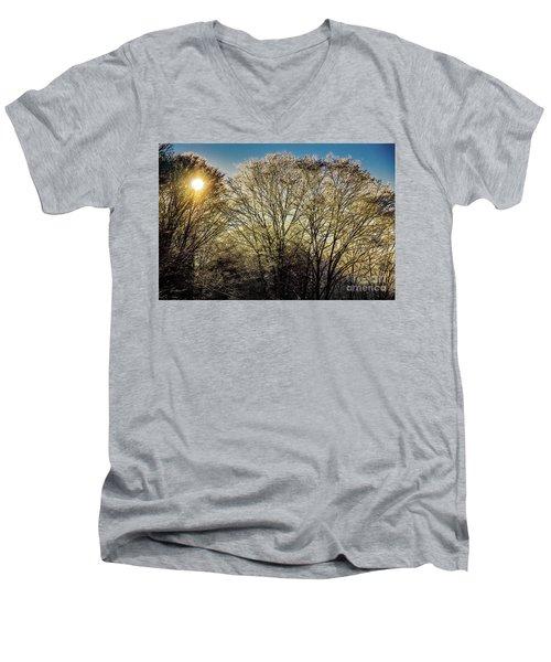 Golden Snow Men's V-Neck T-Shirt