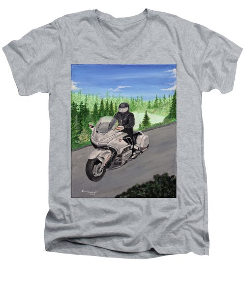 Goldwing Men's V-Neck T-Shirt