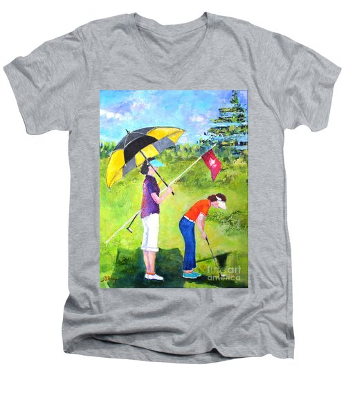 Golf Buddies #3 Men's V-Neck T-Shirt