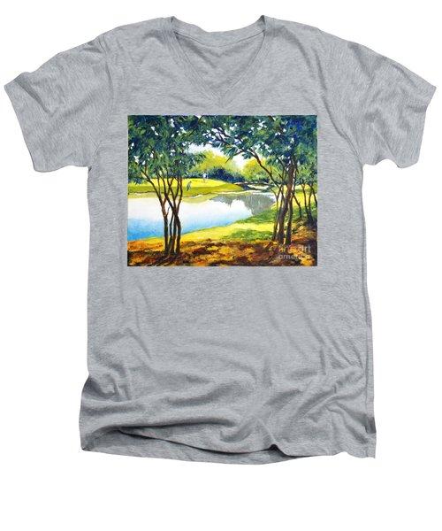 Golf Haven Men's V-Neck T-Shirt