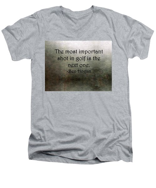 Golf Quote Men's V-Neck T-Shirt
