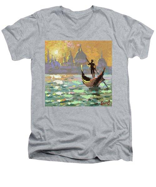 Gondolier Men's V-Neck T-Shirt