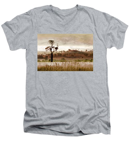 Gondwana Boab Men's V-Neck T-Shirt