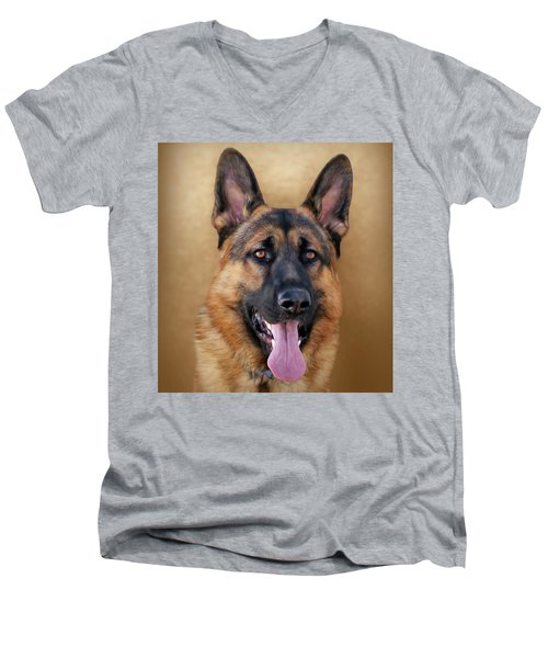 Good Boy Men's V-Neck T-Shirt