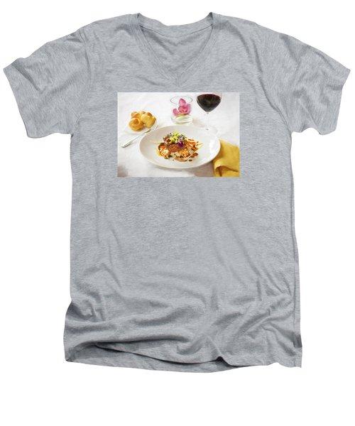 Good Eats Men's V-Neck T-Shirt