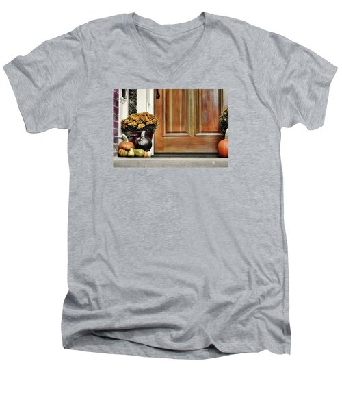 Good Gourds Men's V-Neck T-Shirt by JAMART Photography