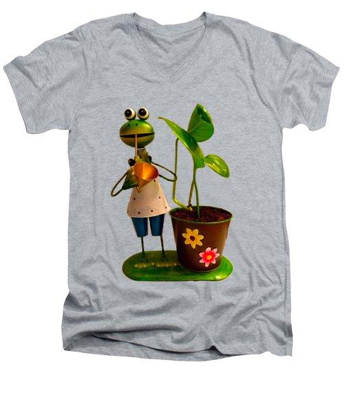 Good Luck Men's V-Neck T-Shirt