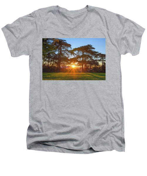 Good Morning, Good Morning Men's V-Neck T-Shirt