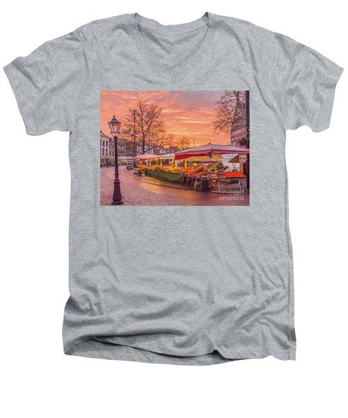 Good Morning Gouda-2 Men's V-Neck T-Shirt