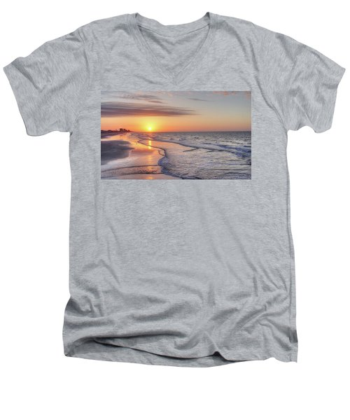 Good Morning Grand Strand Men's V-Neck T-Shirt