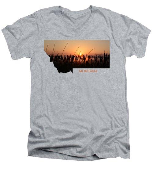Good Morning Montana Men's V-Neck T-Shirt