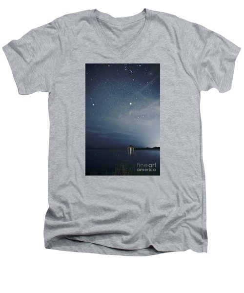 Good Night Dreams Men's V-Neck T-Shirt by Yuri Santin