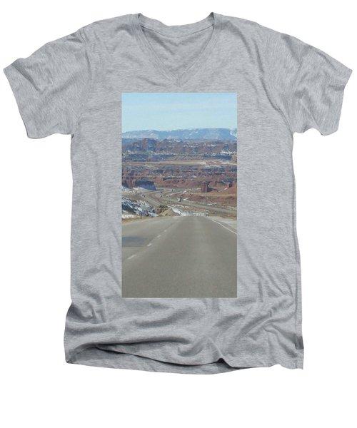 Goodbye Utah Men's V-Neck T-Shirt