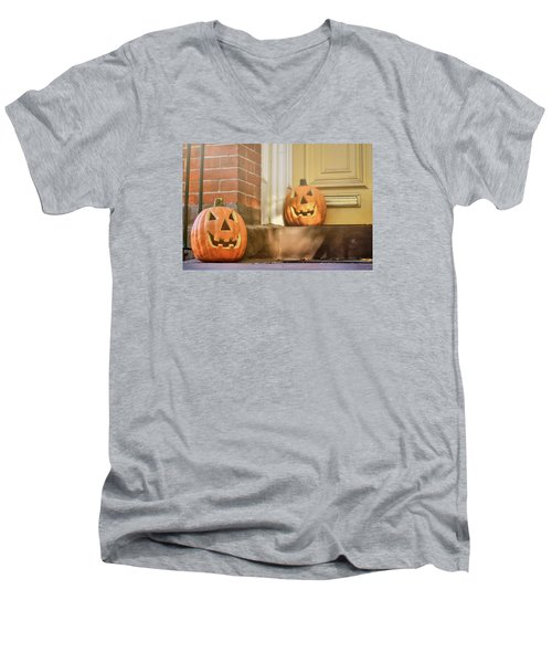 Goofy Gourds Men's V-Neck T-Shirt
