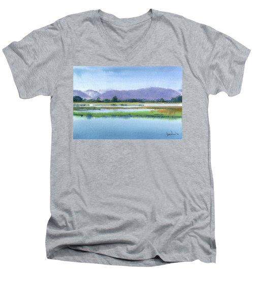 Goose Island Marsh Men's V-Neck T-Shirt