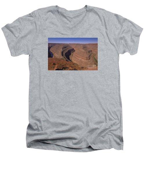 Goose Neck Men's V-Neck T-Shirt
