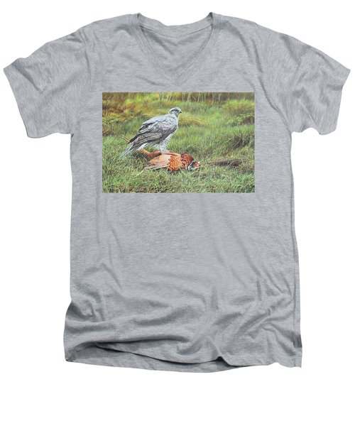 Goshawk Men's V-Neck T-Shirt