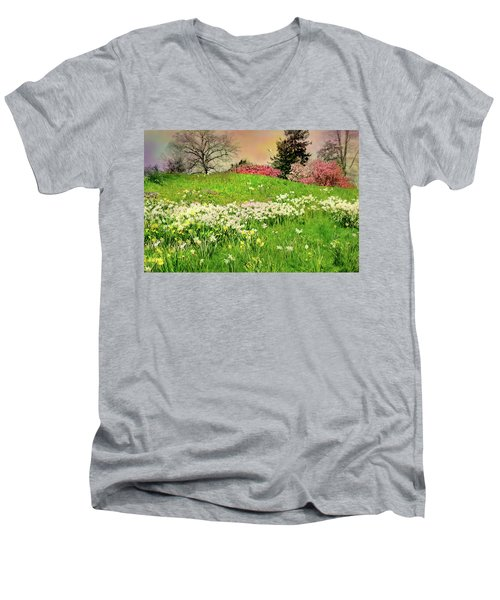 Men's V-Neck T-Shirt featuring the photograph Got A Thing For You by Diana Angstadt