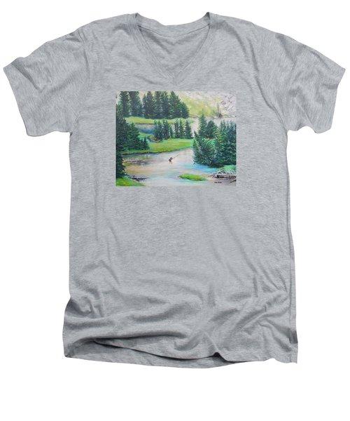 Got One Men's V-Neck T-Shirt by Patti Gordon