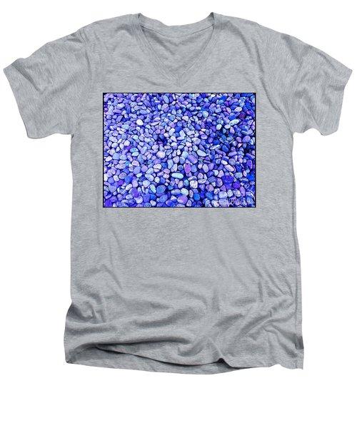 Got  The  Blues Men's V-Neck T-Shirt by MaryLee Parker