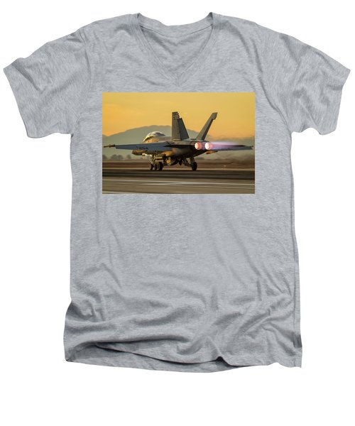 Got Thrust? Men's V-Neck T-Shirt