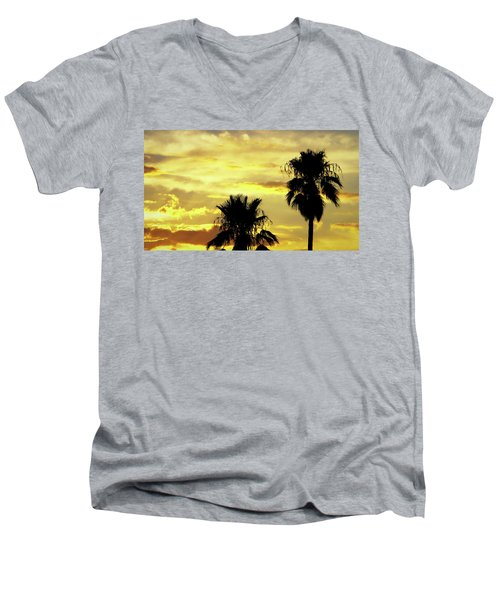 Got To Love Monsoons Men's V-Neck T-Shirt