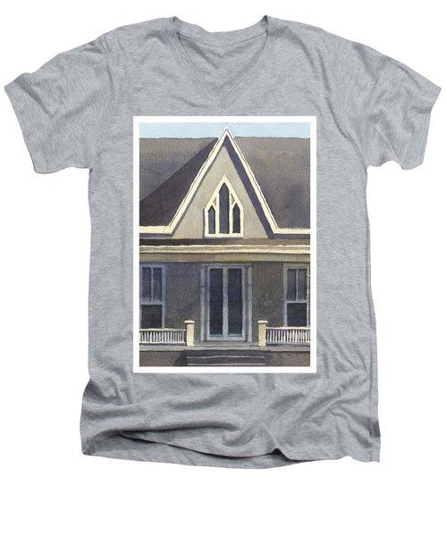 Gothic American, New Harmony, In Men's V-Neck T-Shirt
