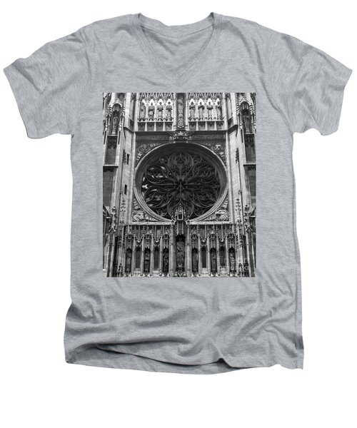 Men's V-Neck T-Shirt featuring the photograph Gothic by Brian Jones