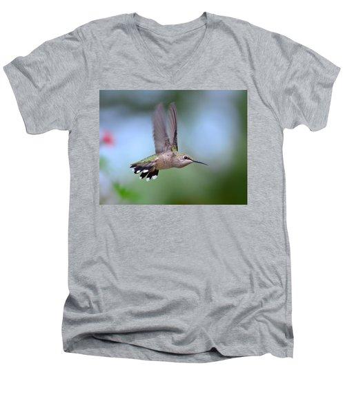 Gotta Go Men's V-Neck T-Shirt by Kathy Eickenberg