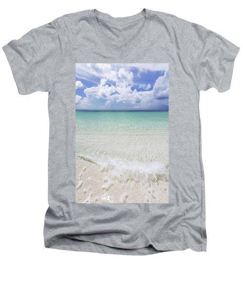 Men's V-Neck T-Shirt featuring the photograph Grace by Chad Dutson