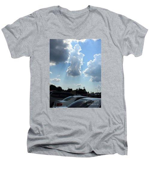 Grace Of The Angels  Men's V-Neck T-Shirt