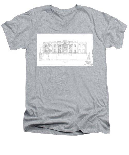 Grafton Station Men's V-Neck T-Shirt