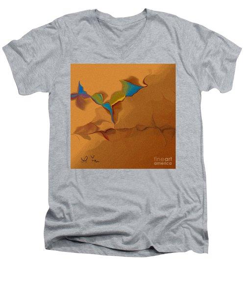 Grain In Our Dialog Men's V-Neck T-Shirt