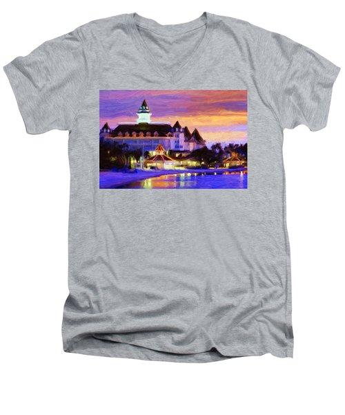 Grand Floridian Men's V-Neck T-Shirt