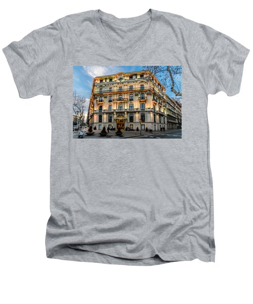 Gran Hotel Havana Men's V-Neck T-Shirt