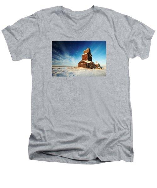 Granary Chill Men's V-Neck T-Shirt