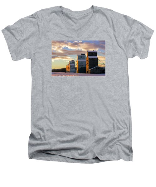 Granary Row Men's V-Neck T-Shirt