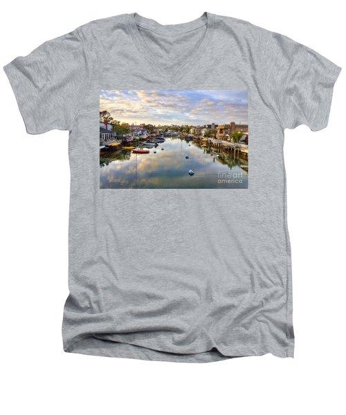 Grand Canal Men's V-Neck T-Shirt