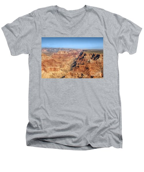 Grand Canyon Aerial View Men's V-Neck T-Shirt