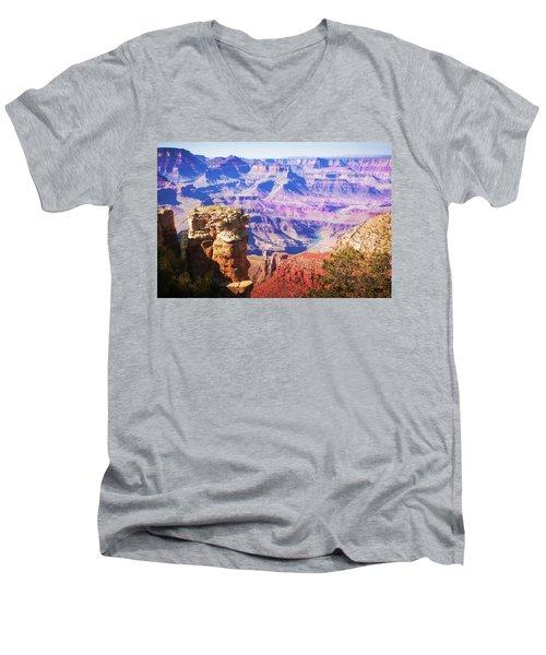 Grand Canyon Arizona 5 Men's V-Neck T-Shirt