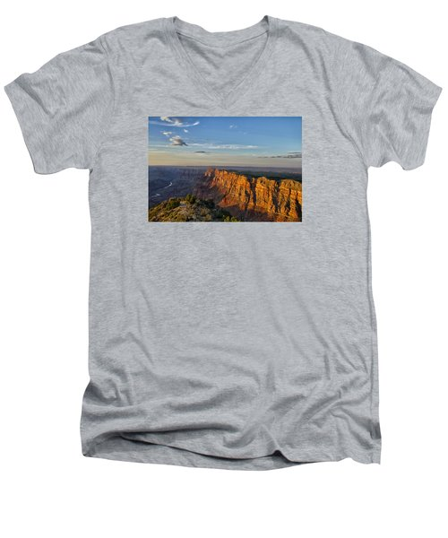 Men's V-Neck T-Shirt featuring the photograph Grand Canyon Daze by Tom Kelly