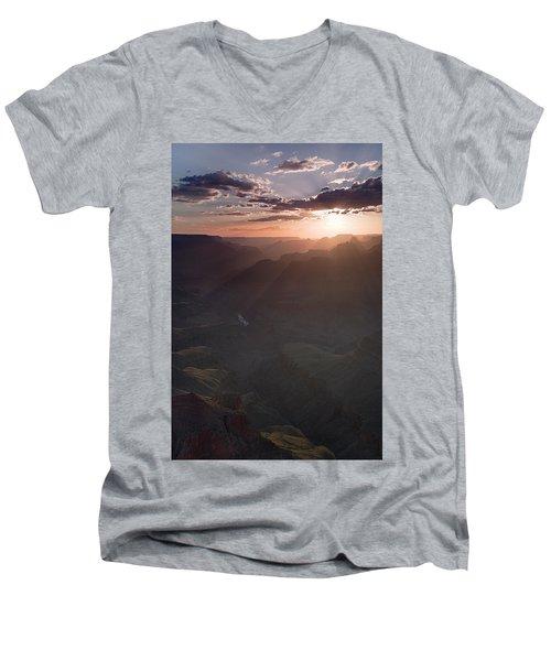 Grand Canyon Glow Men's V-Neck T-Shirt